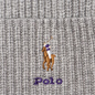 Шапка Polo Ralph Lauren Embroidered Polo Pony Viscose Blend Light Grey Heather фото - 1