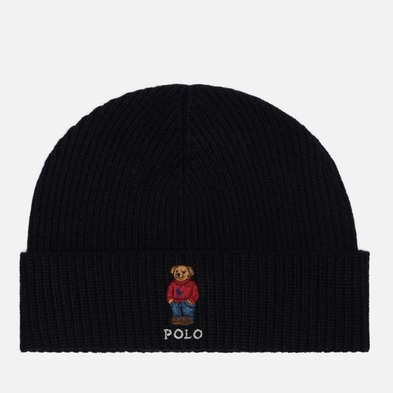 Шапка Polo Ralph Lauren Polo Bear Acrylic/Nylon/Wool Black