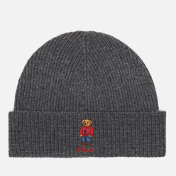 Шапка Polo Ralph Lauren Polo Bear Acrylic/Nylon/Wool Grey