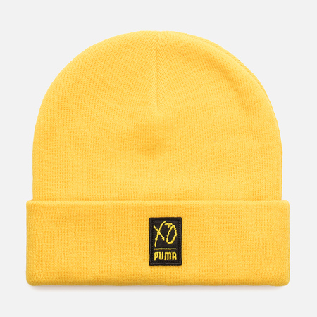 Шапка Puma x The Weeknd XO Beanie Cyber Yellow