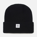 Шапка Reigning Champ Merino Toque Black фото- 0