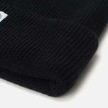 Шапка Reigning Champ Merino Toque Black фото- 1