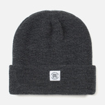 Reigning Champ Merino Toque Hat Charcoal photo- 0