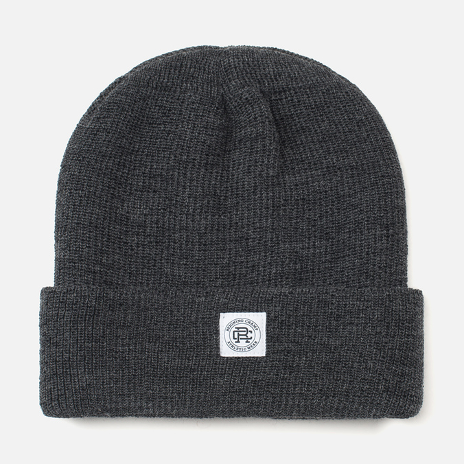 Reigning Champ Merino Toque Hat Charcoal