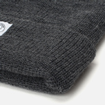 Reigning Champ Merino Toque Hat Charcoal photo- 1