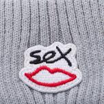 Шапка Sex skateboards Sex Logo Grey фото- 1