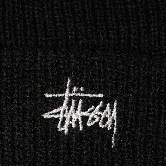 Шапка Stussy Basic Cuff Black