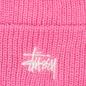 Шапка Stussy Basic Cuff Pink фото - 1