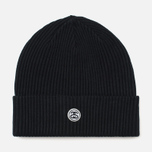 Шапка Stussy Mini SS Link Patch Black фото- 0