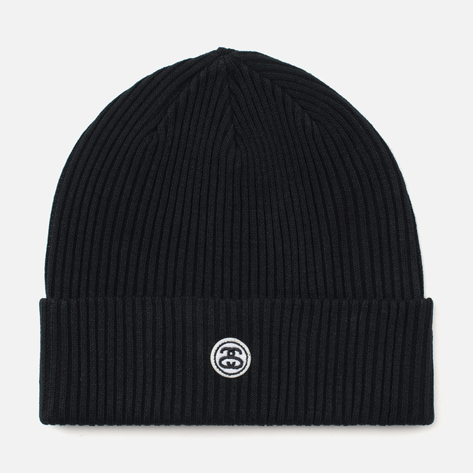 Шапка Stussy Mini SS Link Patch Black