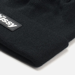 Шапка Stussy Rubber Patch Black фото- 1