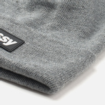 Шапка Stussy Rubber Patch Heather Grey фото- 1