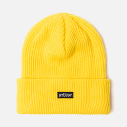 Шапка Stussy Small Patch Watch Yellow