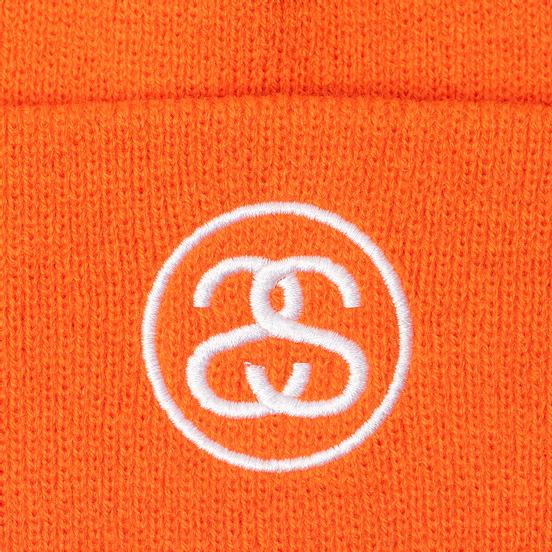 Шапка Stussy SS-Link Cuff Athletic Orange