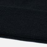 Stussy Stock Cuff Beanie Hat Black photo- 3