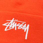 Шапка Stussy Stock Cuff Beanie Orange фото- 1