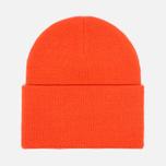 Stussy Stock Cuff Beanie Hat Orange photo- 2