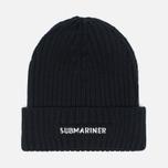 Submariner Night Glow Watch Hat Black photo- 0