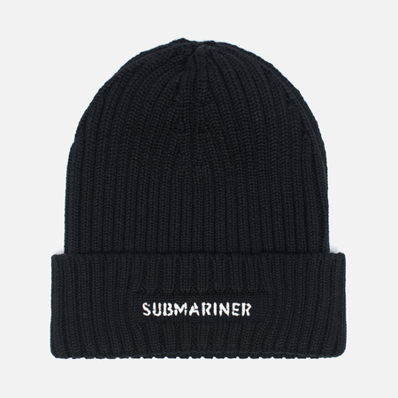 Submariner Night Glow Watch Hat Black