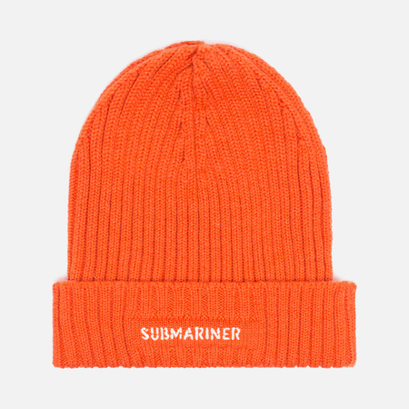 Submariner Night Glow Watch Hat Orange
