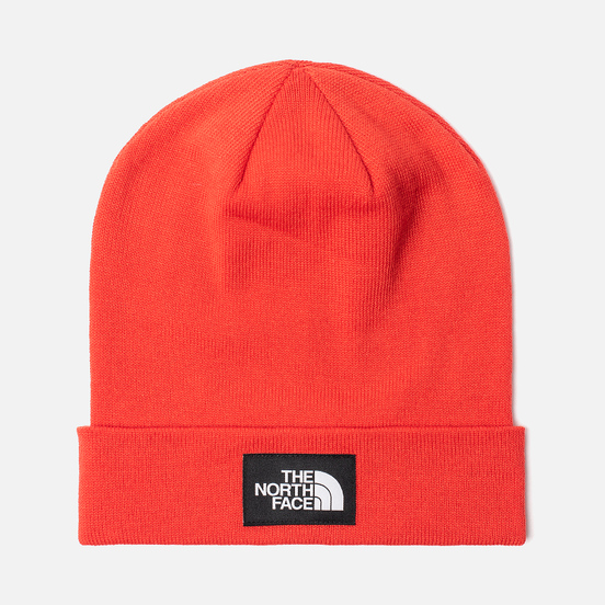 Шапка The North Face Dock Worker Recycled Fiery Red/TNF Black