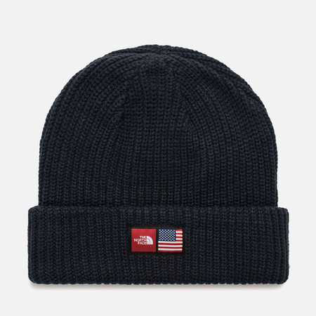 Шапка The North Face IC Label Beanie Cosmic Blue Heather