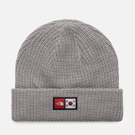 Шапка The North Face IC Label Beanie TNF Light Grey Heather