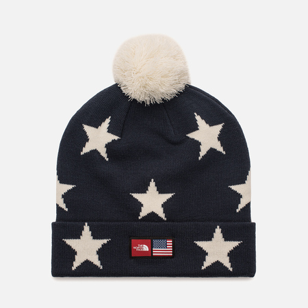 Шапка The North Face IC Ski Tuke Cosmic Blue Star Print