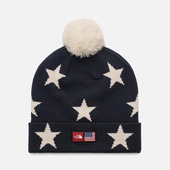 Шапка The North Face IC Ski Tuke Cosmic Blue Star Print