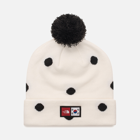 Шапка The North Face IC Ski Tuke Vapour Grey/Dot Print