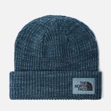 Шапка The North Face Salty Dog Beanie Blue Wing Teal/Bluestone фото- 0