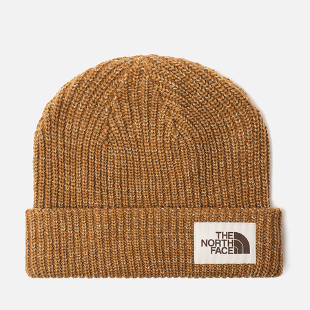 Шапка The North Face Salty Dog Beanie Cedar Brown/Twill Beige