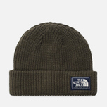 Шапка The North Face Salty Dog Beanie New Taupe Green фото- 0
