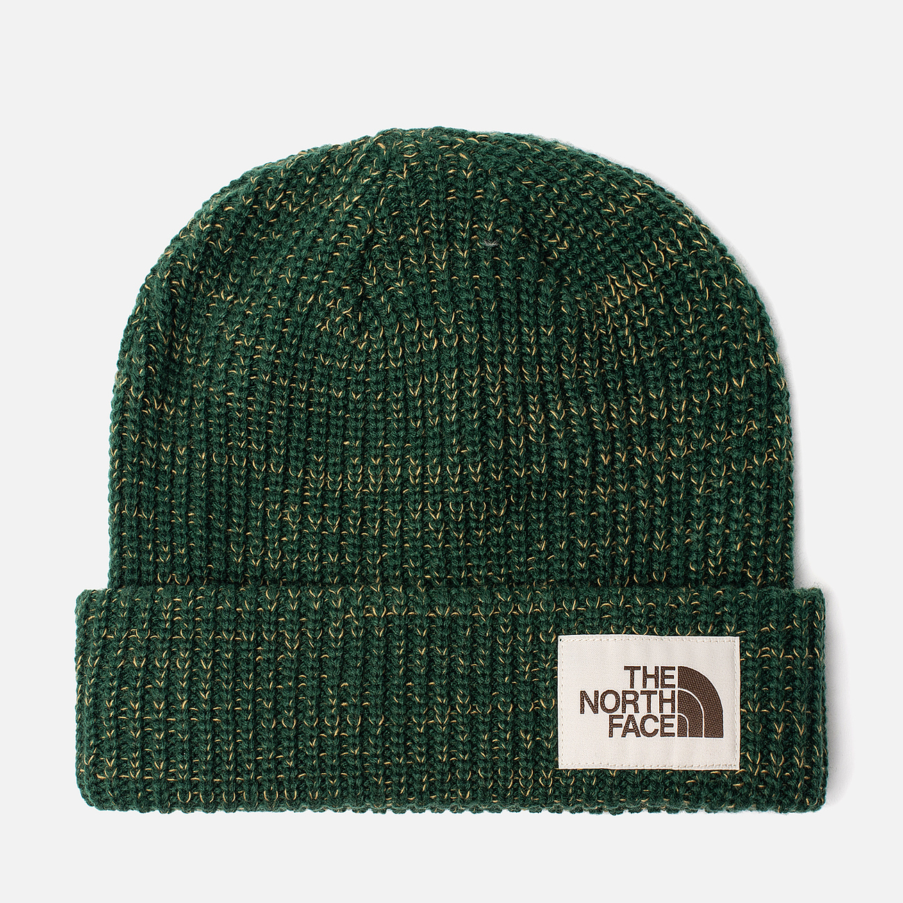 Шапка The North Face Salty Dog Beanie Night Green/British Khaki