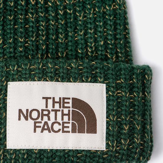 Шапка The North Face Salty Dog Beanie Night Green/British Khaki