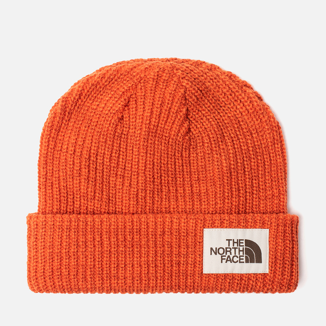 Шапка The North Face Salty Dog Beanie Papaya Orange/Picante Red