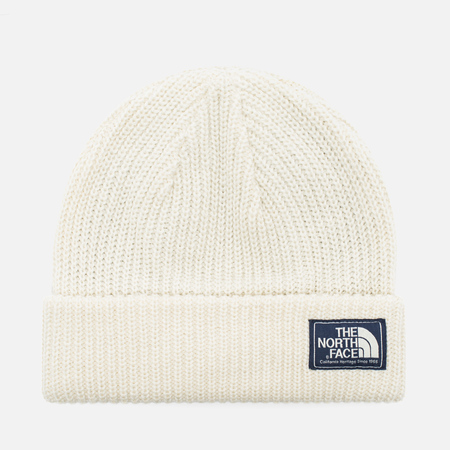 The North Face Salty Dog Beanie Vintage Hat White/Lunar Ice Grey