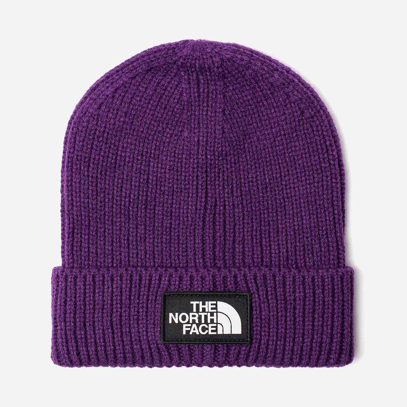 Шапка The North Face TNF Logo Box Cuffed Beanie Hero Purple