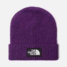 Шапка The North Face TNF Logo Box Cuffed Beanie Hero Purple фото- 0