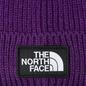 Шапка The North Face TNF Logo Box Cuffed Beanie Hero Purple фото - 1