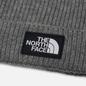 Шапка The North Face TNF Logo Box Cuffed Beanie Medium Grey Heather фото - 1