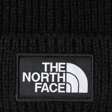 Шапка The North Face TNF Logo Box Cuffed Beanie TNF Black фото- 1