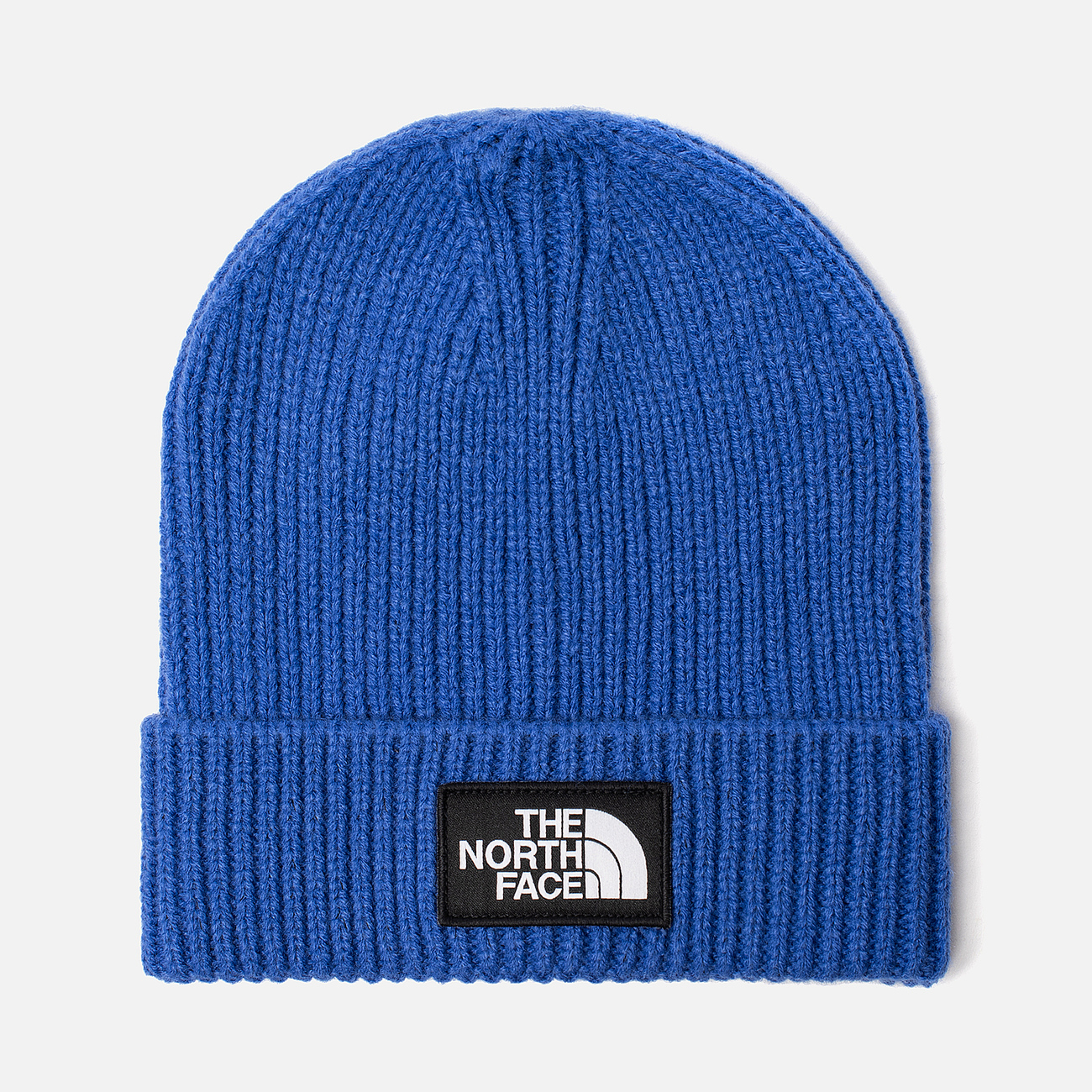 Шапка The North Face TNF Logo Box Cuffed Beanie TNF Blue