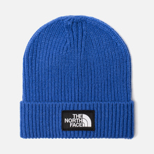 Шапка The North Face TNF Logo Box Cuffed Beanie TNF Blue фото- 0