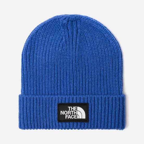 Шапка The North Face TNF Logo Box Cuffed Beanie TNF Blue