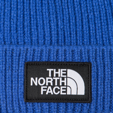 Шапка The North Face TNF Logo Box Cuffed Beanie TNF Blue фото- 1