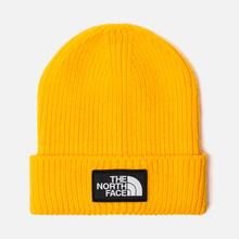 Шапка The North Face TNF Logo Box Cuffed Beanie TNF Yellow фото- 0
