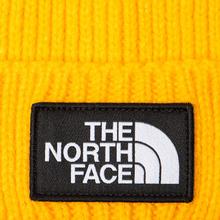 Шапка The North Face TNF Logo Box Cuffed Beanie TNF Yellow фото- 1