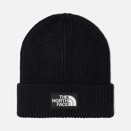Шапка The North Face TNF Logo Box Cuffed Beanie Urban Navy