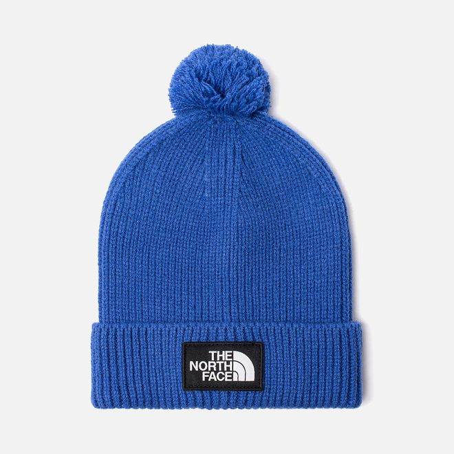 Шапка The North Face TNF Logo Box Pom TNF Blue